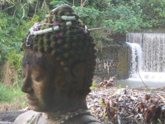 Kilauea, Hawái: Waterfall / Dam