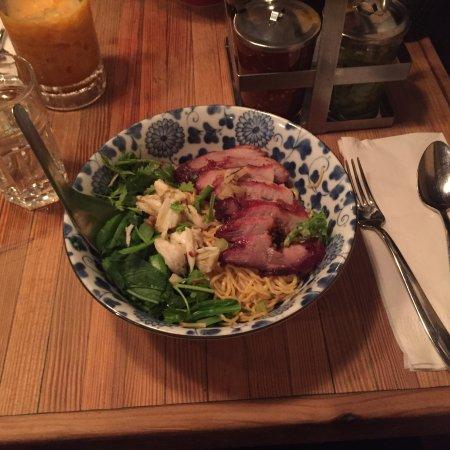 Ratchaburi Crab Pork Dry Noodles Picture Of Pure Thai