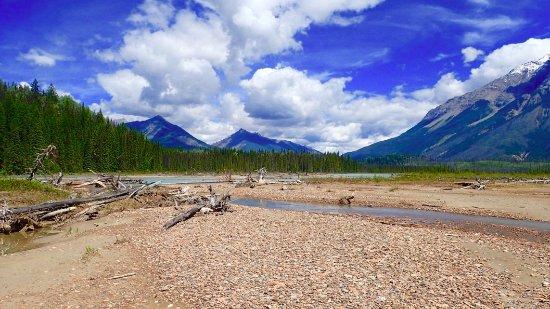 Golden, Canada: Views to Mtn Chancellor