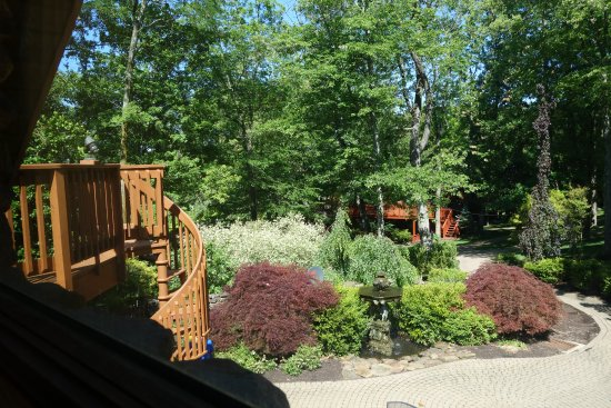 Loudonville, OH: View from the front window of the Gale Suite