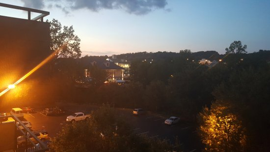 Arbors at Island Landing Hotel & Suites: View from the balcony