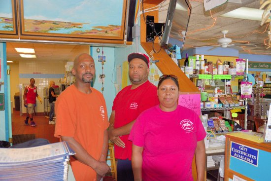 Nassawadox, VA: Chefs Gregory Christian, Chris Sebastian and Catherine Hall