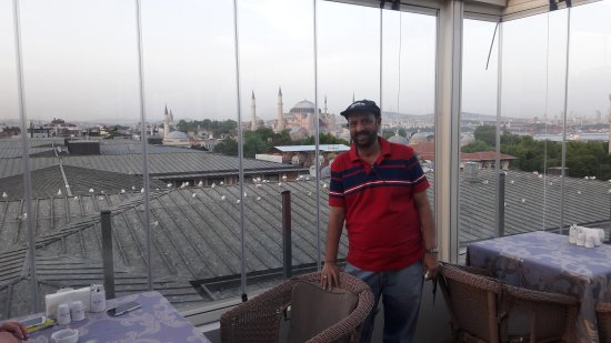 Lady Diana Hotel: Rooftop view