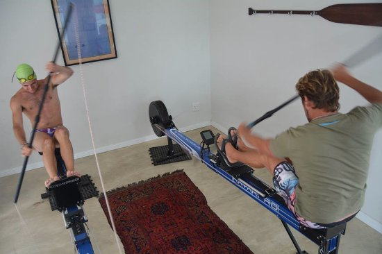 Cape St Francis, Afrika Selatan: Indoor rowing machines