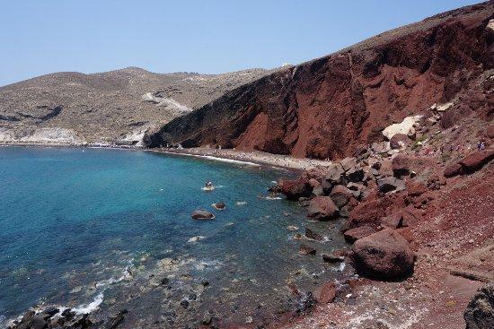 Plaża Red Beach Akrotiri: photo2.jpg
