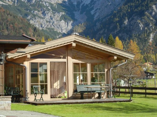 St. Ulrich am Pillersee, Austria: Wintergarten Pension Fohlenhof