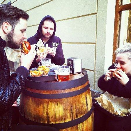 Sumperk, Tsjekkia: Cakir's burger