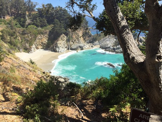 Julia Pfeiffer Burns State Park: The View
