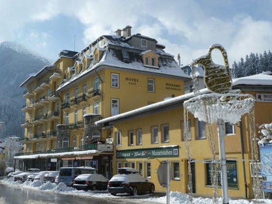 Hotell I Bad Gastein Omradet Karta Over Hotell I Narheten Av Bad