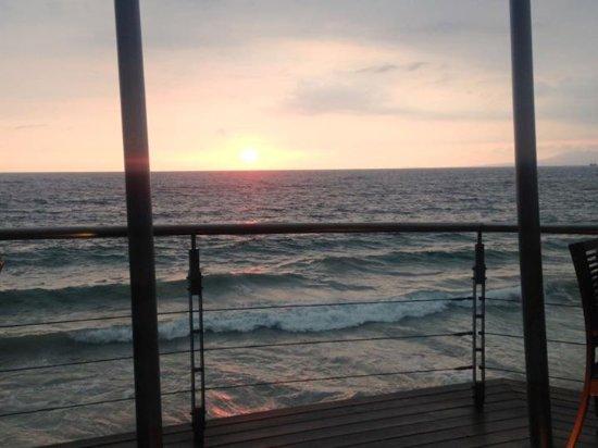 Hyatt Ziva Puerto Vallarta: Our view from dinner at Blaze