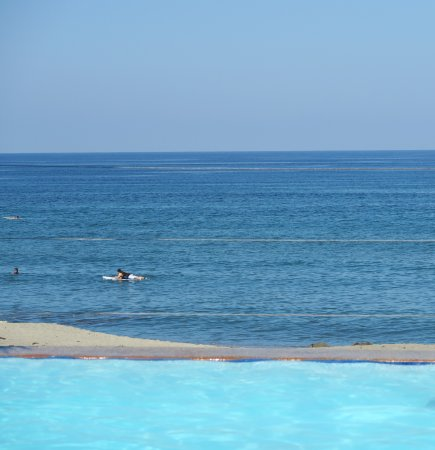 Kahuna Beach Resort and Spa: view from their infinity pool