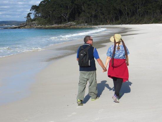 Vincentia, Australia: The beach on a sunny day
