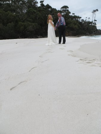 Vincentia, Australien: Beautiful white sand