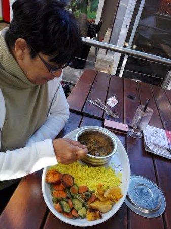 Edenvale, Sydafrika: Prawn Curry