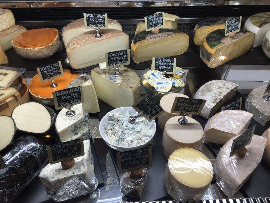 Cheese display - Picture of El Mercado Bangkok - TripAdvisor