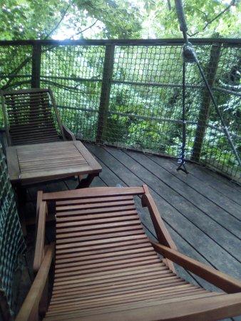 Ingrandes, Γαλλία: la terrasse