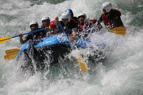 Yoshinogawa Nice Rafting