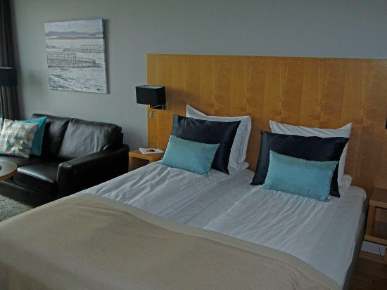 Sistranda, Norge: The bed