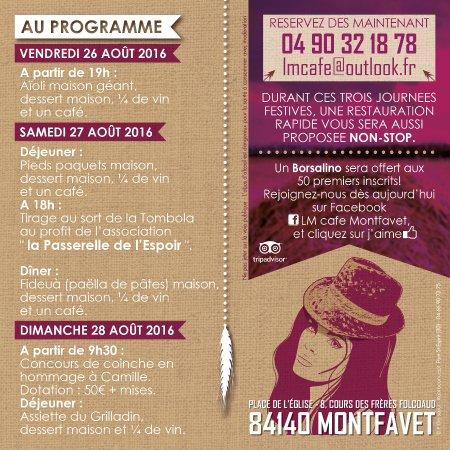Montfavet, France: FÊTE DES FOINS 2016