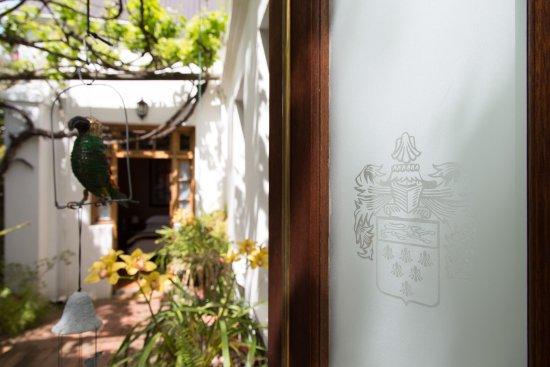 22 Van Wijk Street Guest Rooms: Verandah entrance