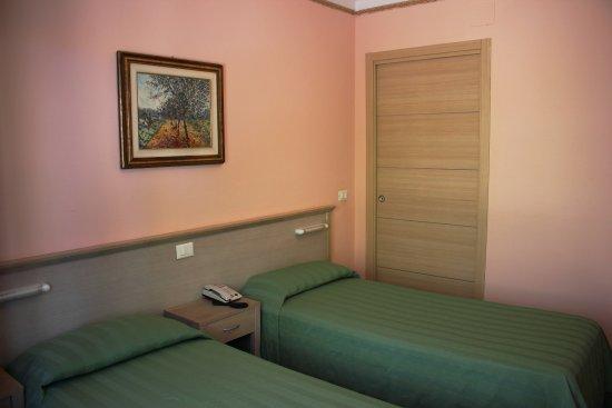 Hotel delle Rose: Camera garden