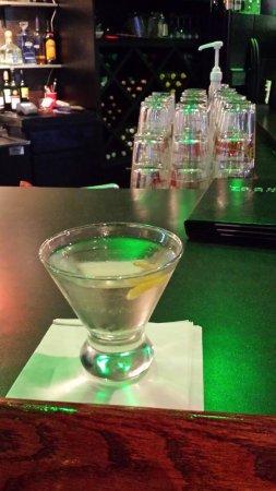 Rock Island, IL: White Cosmo at Icons Martini Bar