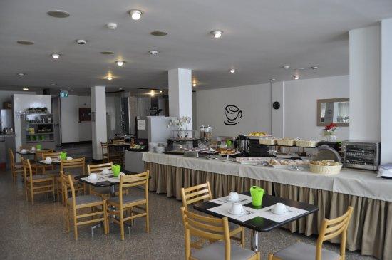 Junior Hotel: sala colazione