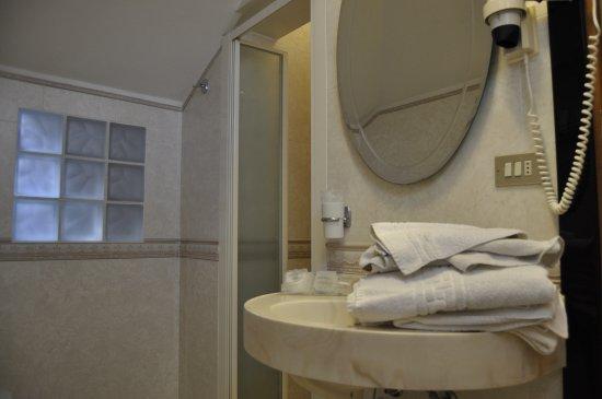 Junior Hotel: bagno