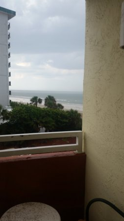 The Cove on Ormond Beach: view from living room