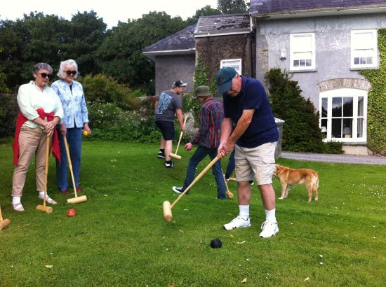 Glenlohane: Some Croquet Fun