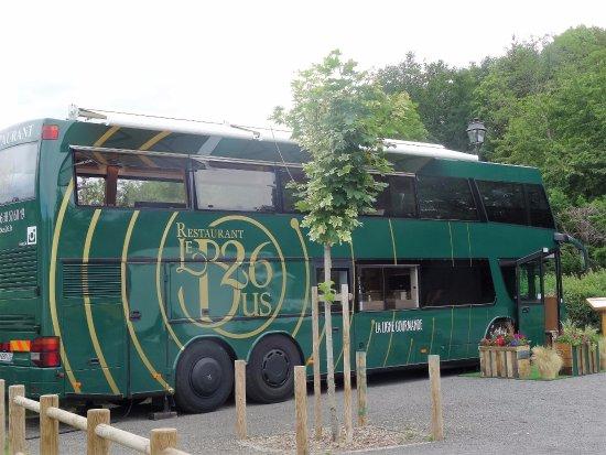 vaisselle originale pour ce sorbet la camomille photo de le bus 26 clermont ferrand. Black Bedroom Furniture Sets. Home Design Ideas