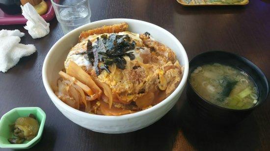 Takikawa Japan  city photos gallery : Takikawa, Japan: カツ丼とメニュー
