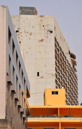 Holiday Inn still derelict since civil war
