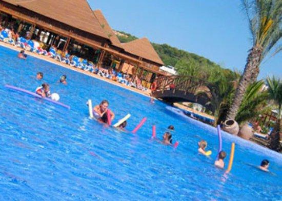 piscina camping torre de la mora - picture of torre de la mora