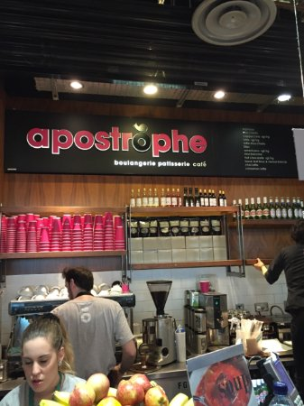 Photo of Cafe Apostrophe at Gatwick Airport, Crawley RH6 0NP, United Kingdom