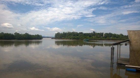 Koh Kong, Kambodsja: View from the restaurant