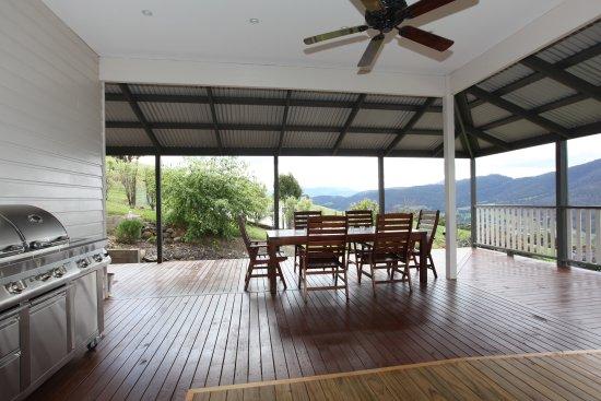 Huonville, Australia: Back Verandah