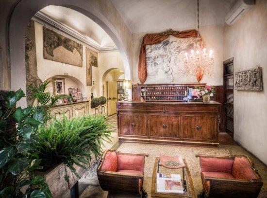 Palazzo dal Borgo Hotel Aprile: Our hall