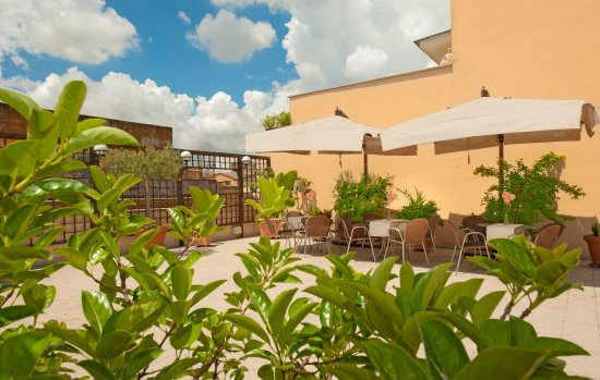 Carlito Hotel and Hostel: Roof Garden