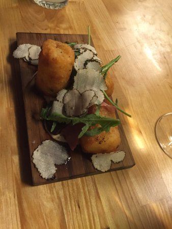 Handle: The tots covered in black truffles