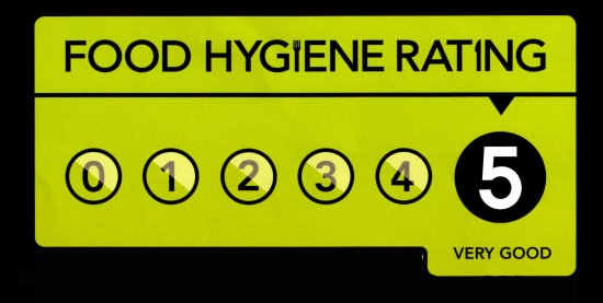 Food Hygiene Rating Five Stars Picture Of The Railway