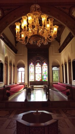 Palais Emir Bachir CHAHABI: The salon
