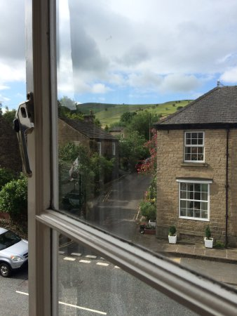 Hayfield, UK: View from window