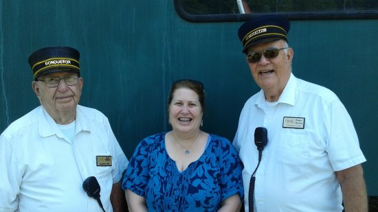 What a great group of people at French Lick Scenic Railway.