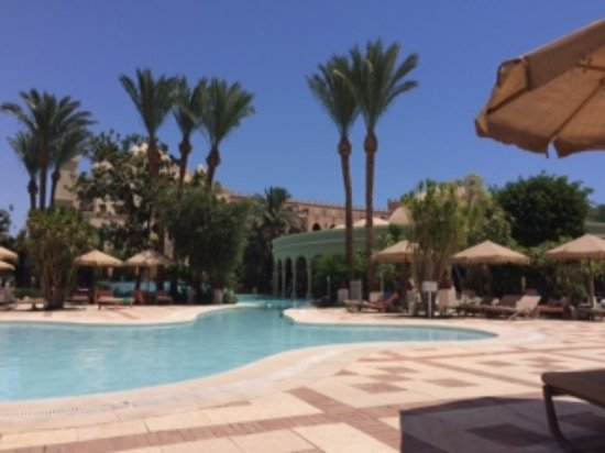The Makadi Palace Hotel: Children's pool view from my sunbed
