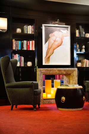 Starhotels Anderson: Library