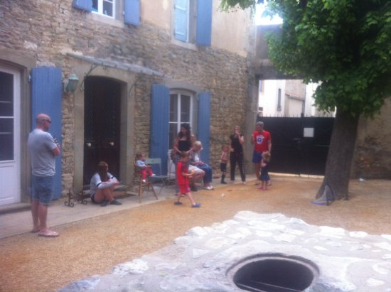 Trausse, Francia: Evening boules...