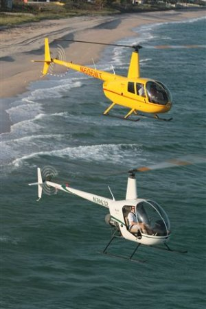 Palm Beach Helicopters: Robinson R44 and Robinson R22