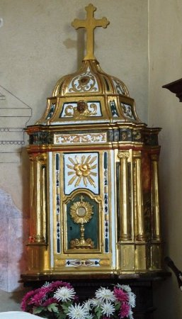 Camerata Cornello, Italy: внутри церкви