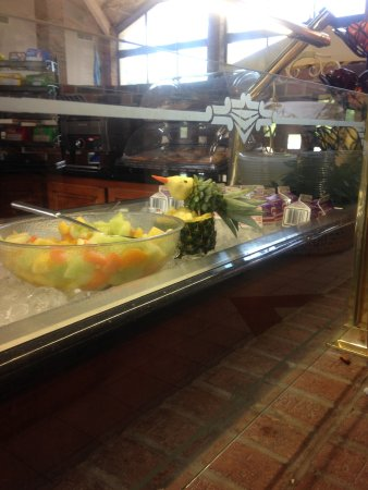Holiday Inn Roanoke Valley View: fun, generous, breakfast buffet